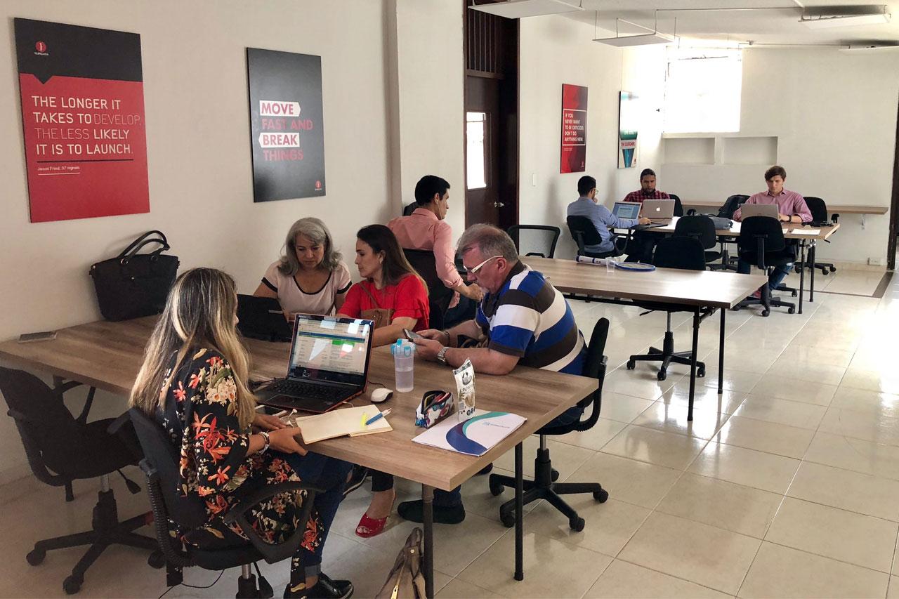 Espacio de coworking en Bucaramanga