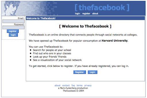Así nació Facebook, como un producto mínimo viable